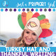 Easy Turkey Hat and Writing