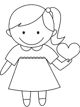 Easy Valentine's Day Coloring Fun