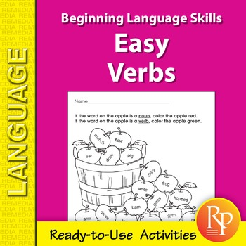 Easy Verbs: Beginning Language Skills