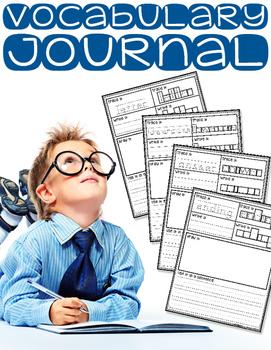 Easy Vocabulary Journal