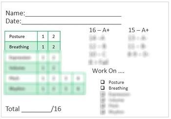 Easy Vocal, Guitar and Ukulele Assessment Bundle