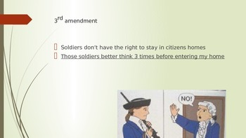 Easy Ways to Remember the Bill of Rights PPT civics