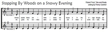 Easy Winter Concert Music for Beginning Recorder (6 notes, reproducible)