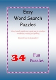 Easy Word Search Puzzles