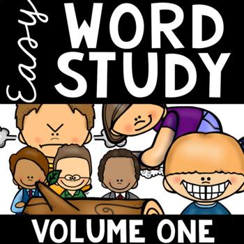 Easy Word Study (Volume One)
