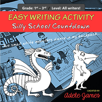 Easy Writing Activity for 1st and 2nd grade No-prep