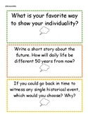 Easy Writing Prompts for Students