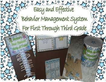 Easy and Effective Behavior Management System for Grades 1, 2, and 3.