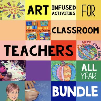 Art Project BUNDLE: Art Activities, Winter, Christmas Activities & Entire Year!