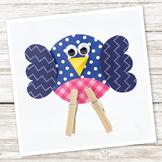 Easy Paper Bird Craft (Spring, Summer)