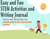 Easy and Fun STEM Activities and Writing Journal