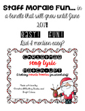Easy and Fun Staff Morale Activities for Holidays!