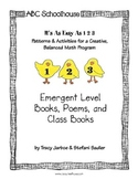 Easy as 1-2-3 (Books and Poems)