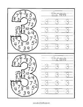 Easy as 1-2-3 (Print and Count)