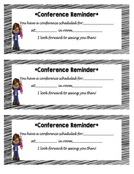 Easy as 1,2,3 Conference Pack!