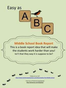 Easy as ABC - Book Report