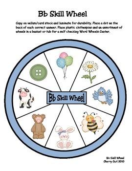Easy as ABC Skill Wheel Sample