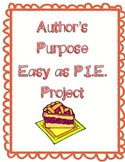 Easy as PIE: Author's Purpose Project