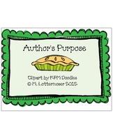 Easy as PIE - Author's Purpose