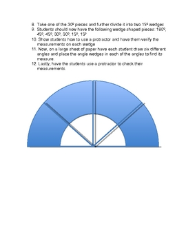 Easy as Pi and  Paper Protractors - Circles, Circumference and More!