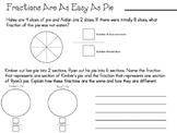 Easy as Pie Fraction Practice