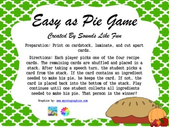 Reinforcement Game: Easy as Pie