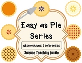 Easy as Pie - Observation and Inference