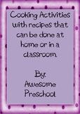 Easy classroom recipes