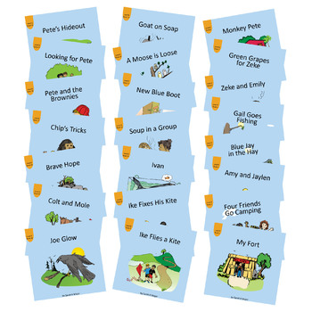Easy-for-Me™ Children's Readers Set B Written by: Sarah K Major
