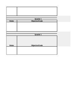 Easy k-8 Curriculum Map