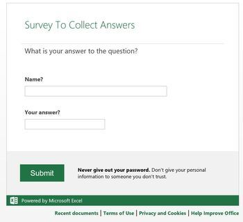 Easy live statistical analysis of student answers