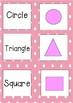 Easy low prep - 2D 3D shape matching game bundle