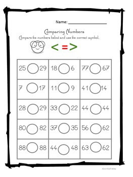 Easy math-- worksheets resource