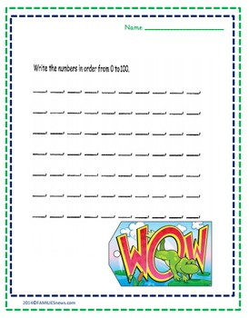 Easy math- fill in the missing numbers worksheets