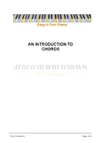 Easy n Fun: An Introduction to Chords