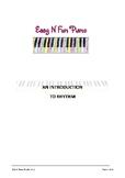 Easy n Fun: An Introduction to Rhythm