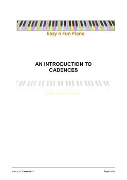 Easy n Fun: Cadences