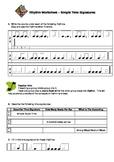 Easy 'n' Fun: Rhythm Worksheet