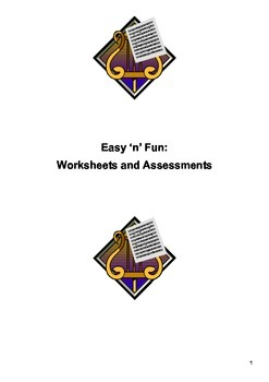 Easy 'n' Fun: Worksheets and Assessments