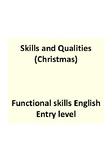 Easy read - Christmas theme - Applying for a job