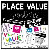 Easy to Display Place Value Posters