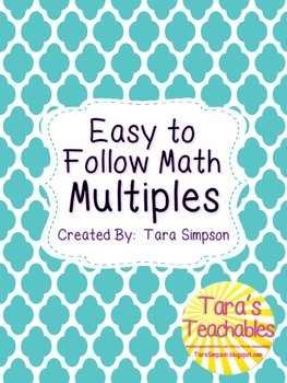 Easy to Follow Math Multiples