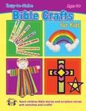 Easy -to-Make Bible Crafts for Kids & Digital Album Download