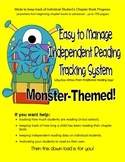 Easy to Manage Daily Independent Reading Tracking/Log System -Chapter Books-