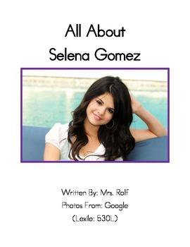 Easy to Read Biographies: Selena Gomez
