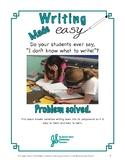 Easy to Teach Narrative Writing Kit