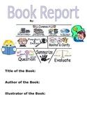 Fun Printable Generic Reading Strategies- BookReport Workbooks