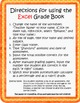 Easy-to-Use Grade Book (Converts % to Standards-Based Repo