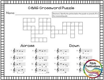 Recorder Resource: C-BAG Bonanza - 20 Page No-Prep Recorder worksheets!