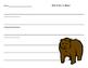 Eat Like a Bear Food Sort and Writing Page